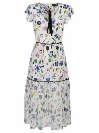 Markus Lupfer Markus Lupfer Fruit Blossom Sheer Belle Dress