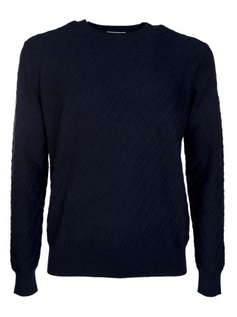 Ballantyne Geometric Patterned Sweater