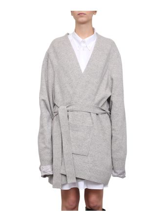 Maison Margiela Reversible Wool Cardigan