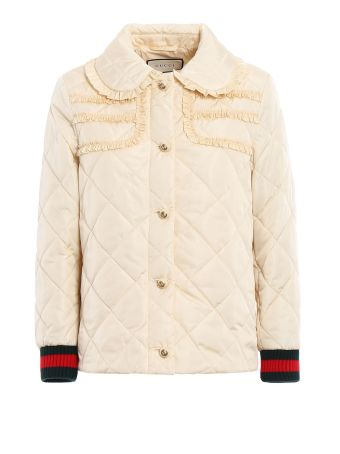 Gucci Quilted Light Nylon Caban
