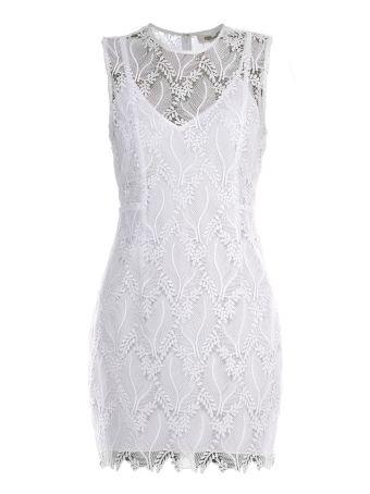 Diane Von Furstenberg Overlay Dress