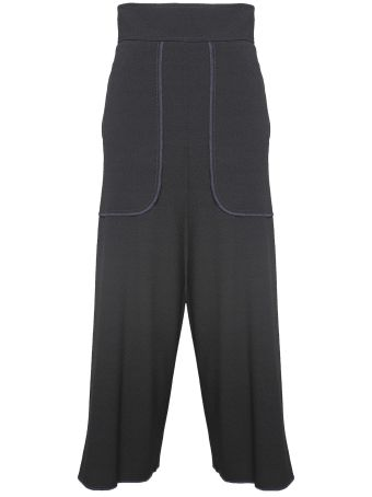 See by Chloé High-rise Crepe Culottes