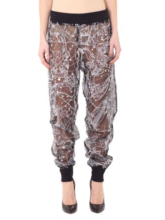 Tr 16 A Embroidered Beaded Joggers