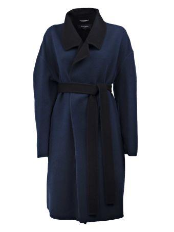 Rochas Wrapped Belt Coat