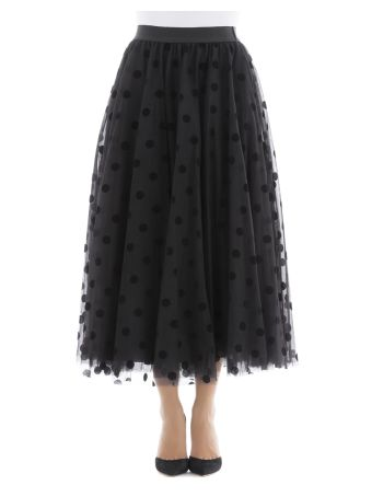 Black Polyammide Skirt
