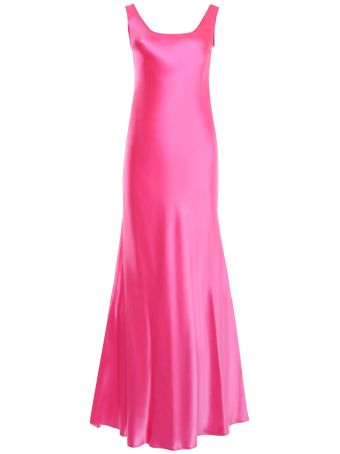 Fluo Satin Dress