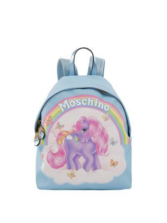 Moschino Nylon Backpack