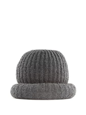 Marc Jacobs Wool And Alpaca-blend Oversized Hat