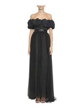 MSGM Off-the-shoulder Dress