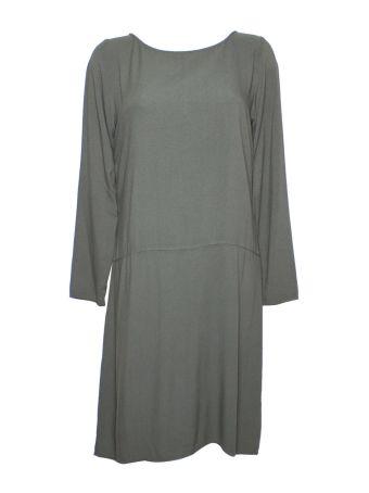Altalana 100% Viscose Boat Neck Dress