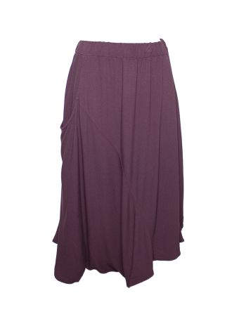 Altalana 100% Viscose 3 Holes Long Skirt