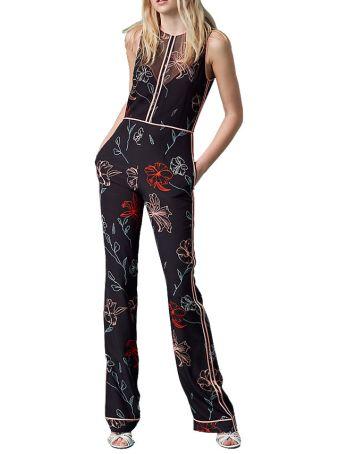 Diane Von Furstenberg Silk Suit