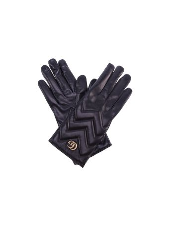 Gucci Marmont Gg Chevron Gloves
