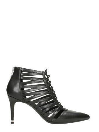 Michael Kors Clarissa Black Leather Boots