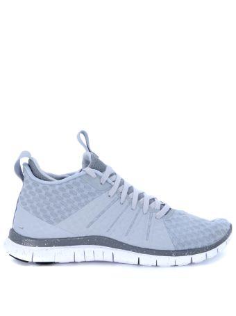 Sneaker Nike Free Hypervenom 2 In Tessuto Gommato Grigio Perla