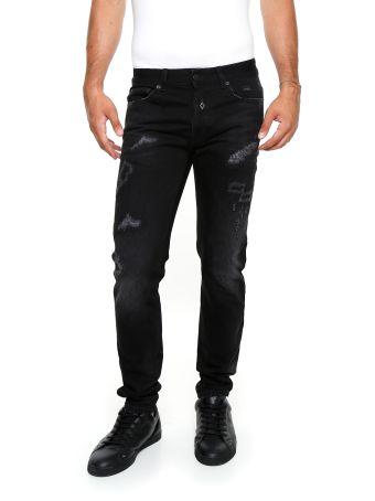 Embroidered Slim Fit Relmu Jeans