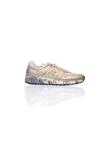 Premiata Gold Sneakers
