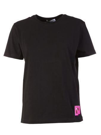 Paco Rabanne Logo Embroidered T-shirt