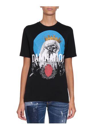 Dsquared2 Damnation Cotton T-shirt