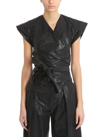 Isabel Marant Black Heather Kimono Top