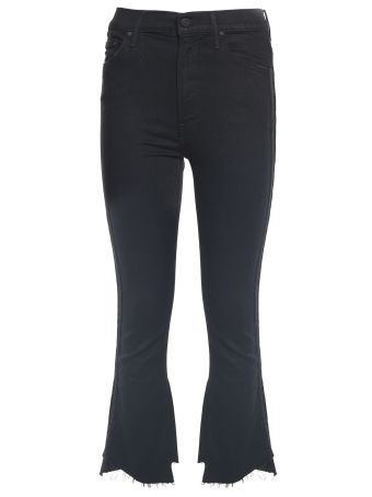 Mother Insider Crop Two-step Fray Jeans