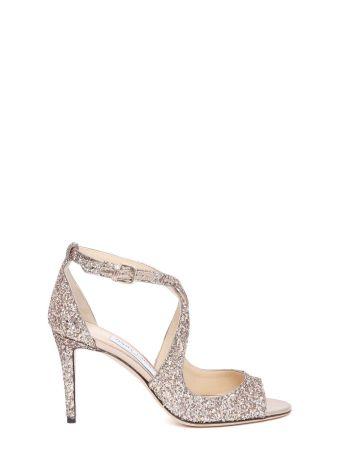 Jimmy Choo 'emily' Glitter Sandals