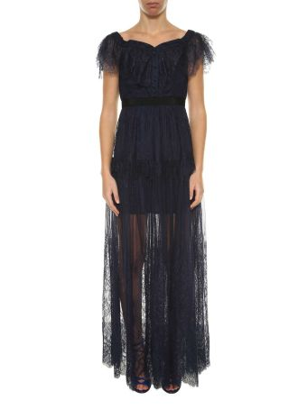 Self-portrait Lace Long Dress