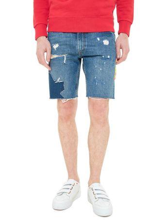 Levi's 505c Slim Fit Cut-off Shorts