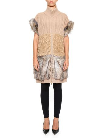 Wool And Fur Free Fur Vest