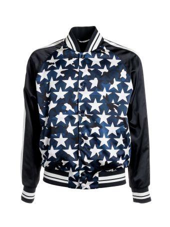 Valentino Star Print Bomber Jacket