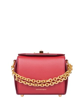 Alexander McQueen Box Leather Bag