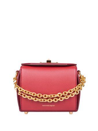 Alexander McQueen Box Leather Bag