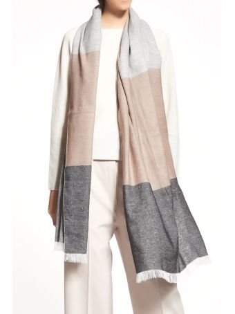 Fabiana Filippi Pashmina In Linen And Wool