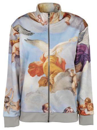 Moschino Fantasia Zipped Sweatshirt