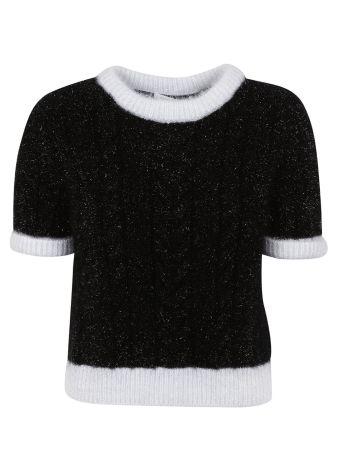 Philosophy Di Lorenzo Serafini Cropped Knit Top