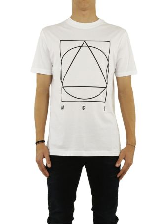 Mcq Alexander Mcqueen Glyph Icon Print T-shirt