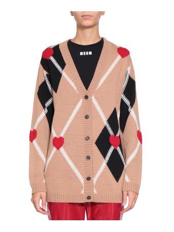 MSGM Wool Cardigan