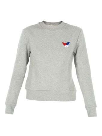 Grey Slim Fit Sweatshirt