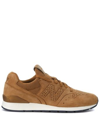 Sneaker New Balance 996 Reengineered In Nabuk Leather And Fabric