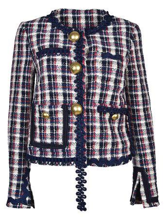 Erika Cavallini Semi-Couture Checked Jacket