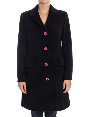 Boutique Moschino Virgin Wool And Cashmere Coat