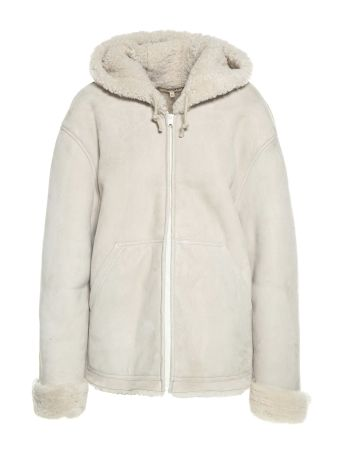 Yeezy Hooded Shearling Jacket Season 5