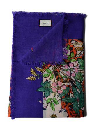 Gucci Flora Tiger 135x135 Scarf