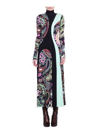 Emilio Pucci Silk Blend Printed Dress
