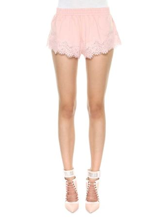 Fenty Puma By Rihanna Lace Trim Sleepwear Short