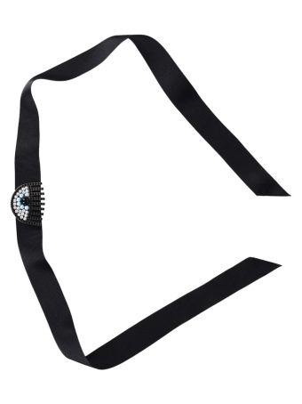Chiara Ferragni  Eye Embellished Choker Necklace