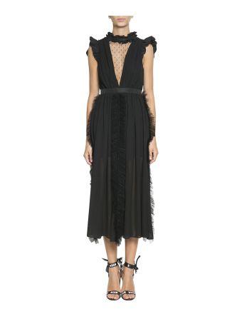 MSGM Ruffled Lace Dress