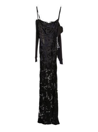 Silk Blend Dã¨vpor㨠Long Dress
