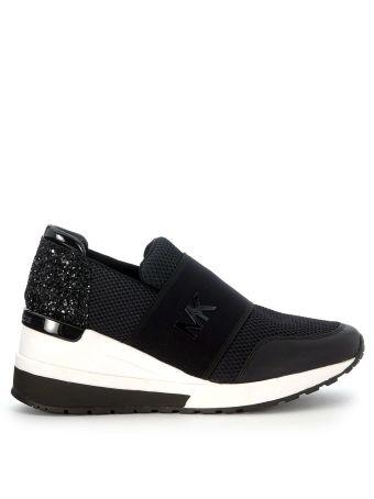 Michael Kors Felix Black Slip On Sneaker