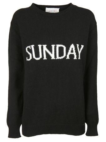 Alberta Ferretti Wednesday Embroidered Sweater